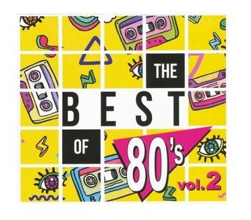 THE BEST OF 80'S 2 2CD Roxette Бонни Тайлер Abba доставка товаров из Польши и Allegro на русском