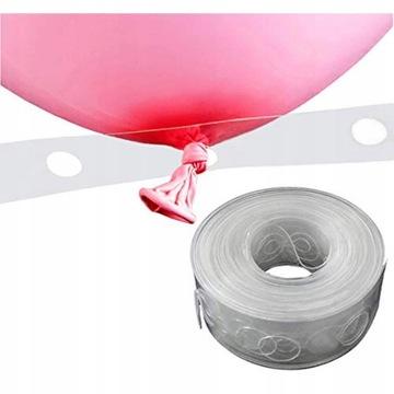 Girlanda łuk balonowy Taśma do balonów na ślub 5m