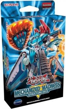 Yu-Gi-Oh! TCG Mechanized Madness Structure Deck доставка товаров из Польши и Allegro на русском