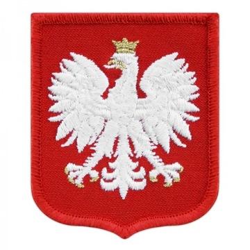 GODŁO POLSKI na mundur naszywka galowa wojsko MON доставка товаров из Польши и Allegro на русском