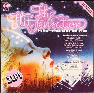 THE HIT SENSATION 1981–1982 - разные артисты 2LP  доставка товаров из Польши и Allegro на русском