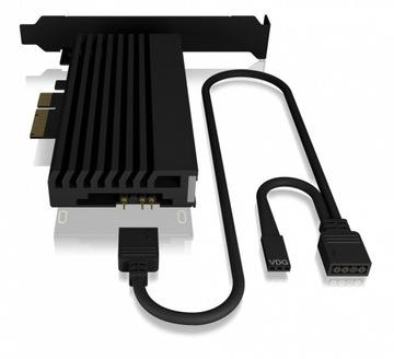IcyBox kontroler karta PCIe na dysk M.2 M-Key доставка товаров из Польши и Allegro на русском