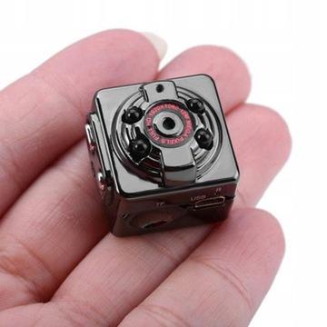 MINI Kamerka kamera szpiegowska samochodowa SQ8 S доставка товаров из Польши и Allegro на русском
