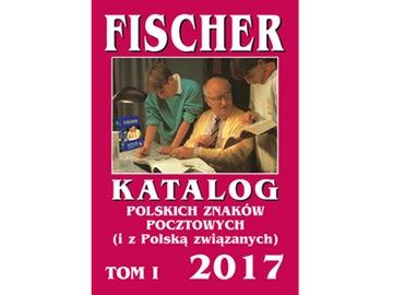 Katalog znaczków Fischer 2017 TOM I 1 Nieużywany доставка товаров из Польши и Allegro на русском