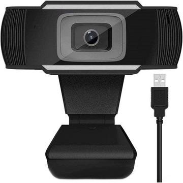Веб-камера Веб-камера МИКРОФОН FULL HD 1080P доставка товаров из Польши и Allegro на русском