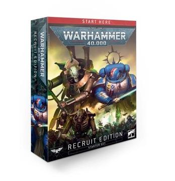 Warhammer 40000 Рекрут Edition starter доставка товаров из Польши и Allegro на русском