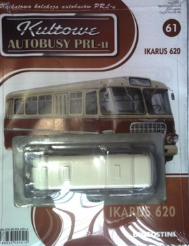 KULTOWE BUS Y PRL No. 61 IKARUS 620  доставка товаров из Польши и Allegro на русском