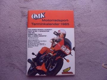 1985 Календарь автоспорта и спидвея доставка товаров из Польши и Allegro на русском