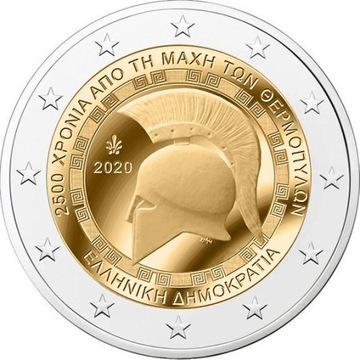 2 евро Греция Термопилы 2020 доставка товаров из Польши и Allegro на русском