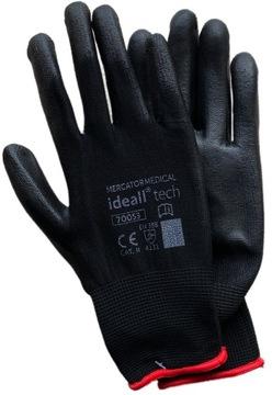 ПЕРЧАТКИ перчатки РАБОЧИЕ ПОЛИУРЕТАНОВЫЕ PU доставка товаров из Польши и Allegro на русском