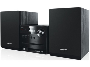 Башня SHARP XL-B510 BK Черный MP3 FM доставка товаров из Польши и Allegro на русском