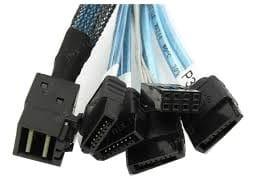 Kabel Avago-LSI SFF8643 Mini SAS HD To 4 SATA 1m 1 доставка товаров из Польши и Allegro на русском