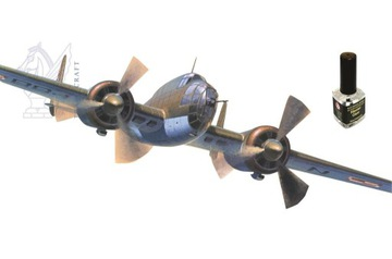 Модель PZL P-37B Los II 1:72 Клей + Бесплатная доставка товаров из Польши и Allegro на русском