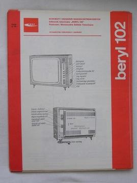 ODBIORNIK TELEWIZYJNY BERYL 102 INSTRUKCJA SERWISO доставка товаров из Польши и Allegro на русском