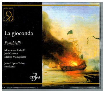 PONCHIELLI LA GIOCONDA 3CD US CARRERAS M. CABALLE доставка товаров из Польши и Allegro на русском