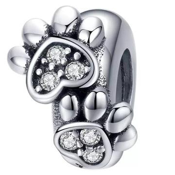 ПОДВЕСКИ СЕКУНДОМЕР ЛАПЫ к Pandora Apart beads 925 доставка товаров из Польши и Allegro на русском