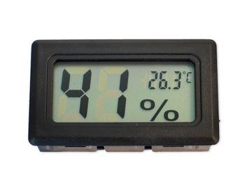 HIGROMETR TERMOMETR LCD WILGOTNOŚCIOMIERZ miernik