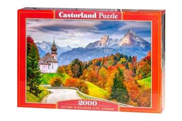Головоломка 2000 шт. C-200795 Осень в Баварских Альпах  доставка товаров из Польши и Allegro на русском