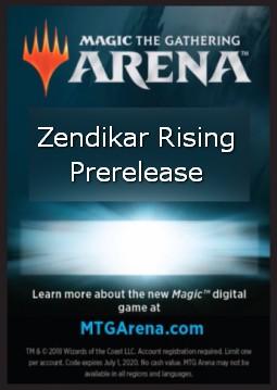 MTG Arena Kod Code Zendikar Rising 6 boosterów @@@ доставка товаров из Польши и Allegro на русском