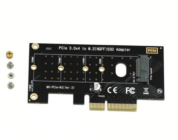 Adapter SSD M.2 NVME M2 PCIE express X4/X8/X16 доставка товаров из Польши и Allegro на русском