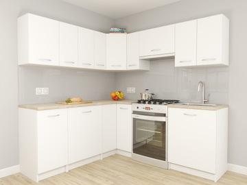 Набор кухонной мебели Падуя Угловые Белые СТОЛЕШНИЦЫ доставка товаров из Польши и Allegro на русском