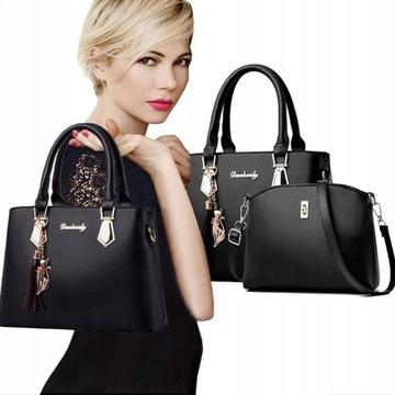 Большая Сумка Shopper Сумка + сумка бесплатно доставка товаров из Польши и Allegro на русском