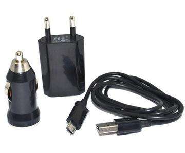 Зарядное устройство 2A Адаптер Автомобильное Micro usb-Кабель доставка товаров из Польши и Allegro на русском