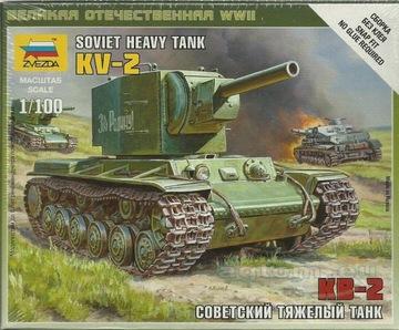 Звезда 1:100 KV-2 / KW-2 - СОВЕТСКИЙ ТЯЖЕЛЫЙ ТАНК доставка товаров из Польши и Allegro на русском