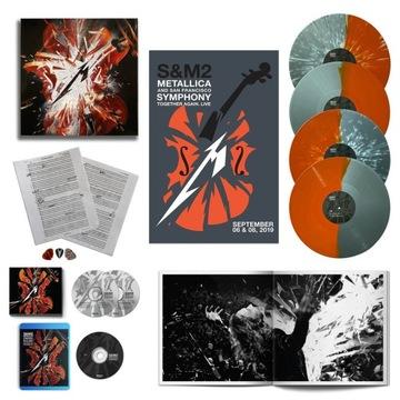 Metallica S&M2 (DELUXE LIMITED BOX) WYSYŁKA 24 доставка товаров из Польши и Allegro на русском