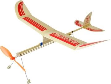 Самолет с резиновым приводом ЛЕТУЧАЯ модель из бальзы доставка товаров из Польши и Allegro на русском