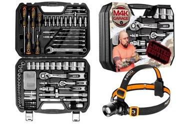 Limitowany zestaw narzędzi M4K Garage i latarka
