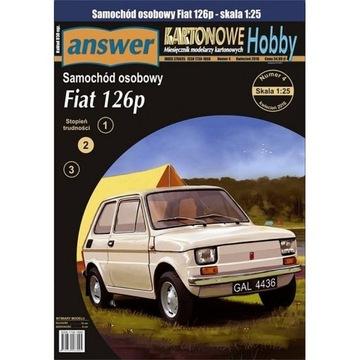 Ответ 1/16 - легковой Автомобиль Fiat 126p , 1:25 доставка товаров из Польши и Allegro на русском