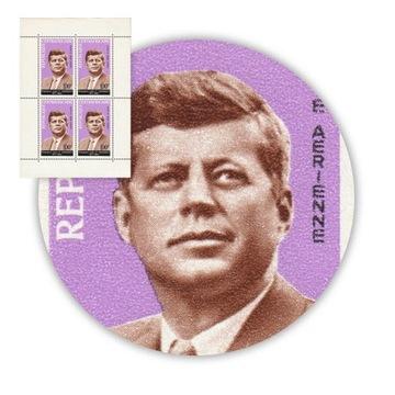 Republika Środkowej Afryki John F. Kennedy Blok ** доставка товаров из Польши и Allegro на русском