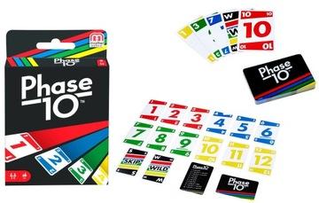 Mattel Faza Phase 10 Gra Karty Oryginalna Nowa доставка товаров из Польши и Allegro на русском