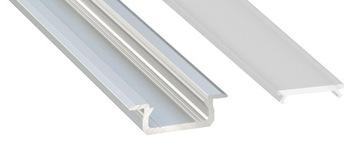 Алюминиевый профиль для LED врезные 2м С АБАЖУРОМ доставка товаров из Польши и Allegro на русском