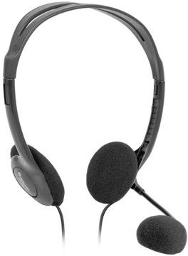 Słuchawki z mikrofonem DEFENDER AURA HN-102 czarne доставка товаров из Польши и Allegro на русском