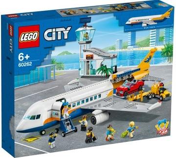 LEGO CITY Пассажирский самолет 60262  доставка товаров из Польши и Allegro на русском