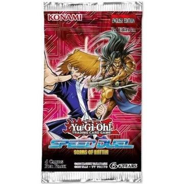 Yu-Gi-Oh! TCG: Speed Дуэль Scars of Battle Booster доставка товаров из Польши и Allegro на русском