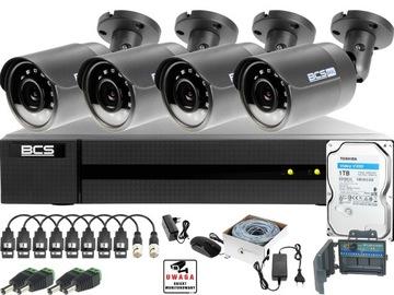 Zestaw do monitoringu BCS 4MP Kamery zewnętrzne IR доставка товаров из Польши и Allegro на русском