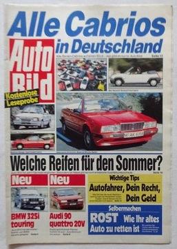 AUTO BILD 1988 - СПЕЦИАЛЬНЫЙ ВЫПУСК - ГЕРМАНИЯ доставка товаров из Польши и Allegro на русском