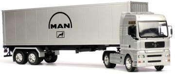 WELLY METALOWY MODEL MAN TGX CIĘŻARÓWKA TIR KOŃ доставка товаров из Польши и Allegro на русском