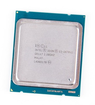 Процессор intel xeon E5-2670v2 Lga2011 FVAT23% доставка товаров из Польши и Allegro на русском