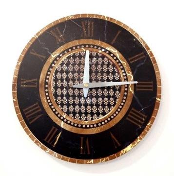 Zegar ścienny ZH112 retro vintage 30cm