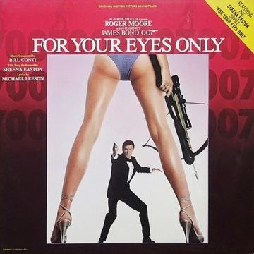 Bill Conti - For Your Eyes Only Soundtrack - EX доставка товаров из Польши и Allegro на русском