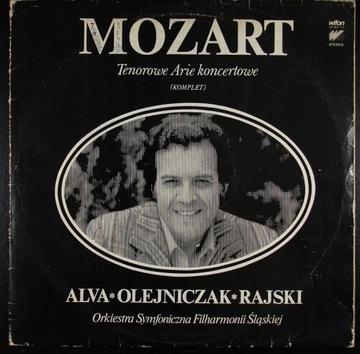 LUIGI ALVA - MOZART - Tenorowe arie koncertowe 2LP доставка товаров из Польши и Allegro на русском