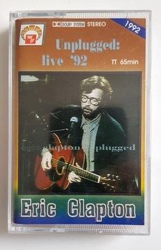 ERIC CLAPTON UNPLUGGED LIVE '92 kaseta audio доставка товаров из Польши и Allegro на русском