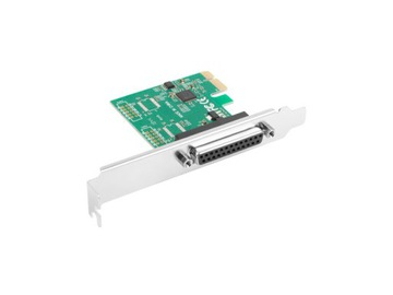 LANBERG KARTA PCI-E LPT (DB25) X1 + ŚLEDŹ LOW доставка товаров из Польши и Allegro на русском