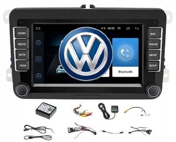 RADIO 2 DIN ANDROID VW GOLF V VI 5 6 PASSAT B6 B7 доставка товаров из Польши и Allegro на русском
