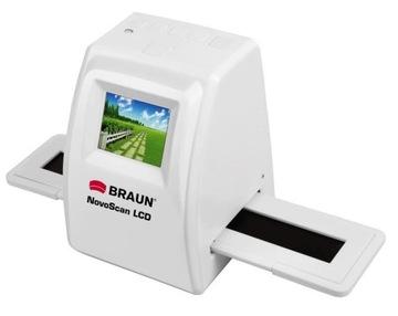 Сканер BRAUN Novoscan ЖК-видео - слайды, негативы доставка товаров из Польши и Allegro на русском