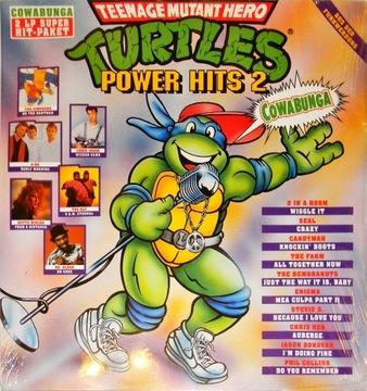 Turtles Power Hits 2 1991 SKŁ 2x12' 2 Brothers KLF доставка товаров из Польши и Allegro на русском